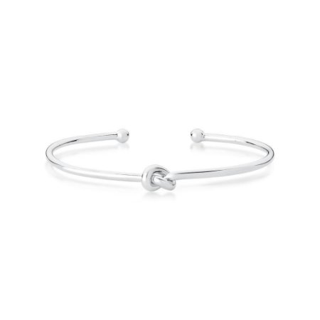 Bracelete Ródio Nó
