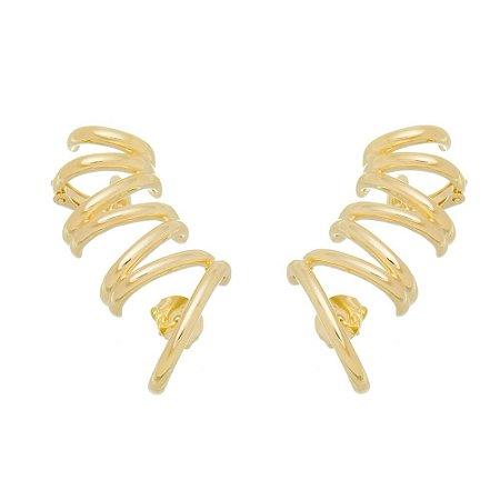Brinco Dourado Ear Cuff
