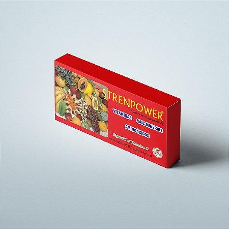 Strenpower 20 flaconetes Vita Power