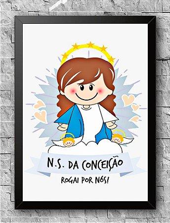 Quadro Nossa Senhora Da Conceição