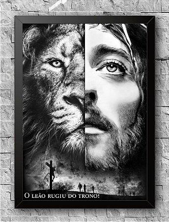 Quadro O Leão Rugiu