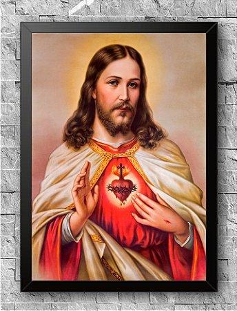 Quadro Sagrado Coração de Jesus