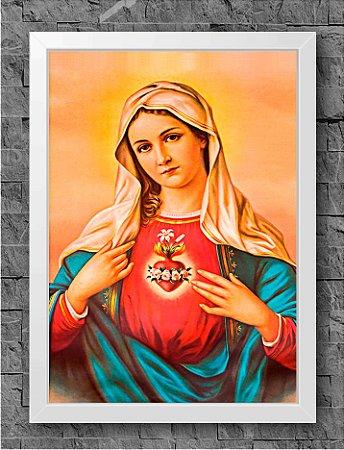 Quadro Sagrado Coração de Maria (1)
