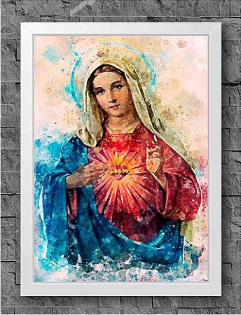 Quadro Sagrado Coração de Maria (2)