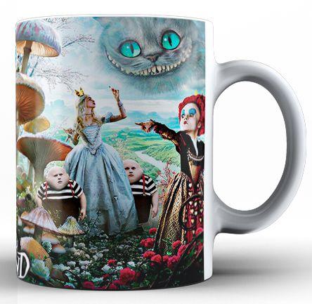 Caneca Alice no País das Maravilhas (1)