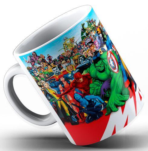 Caneca Super Heróis Marvel