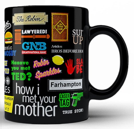 Caneca How I Met Your Mother (2)