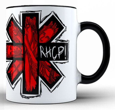 Caneca Red Hot Chili Peppers (2)