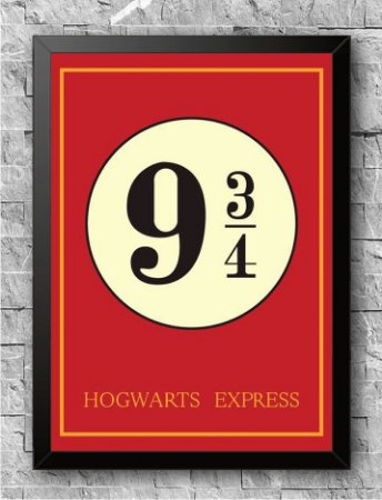 Quadro Harry Potter (4)