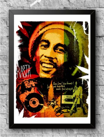Quadro Bob Marley (2)