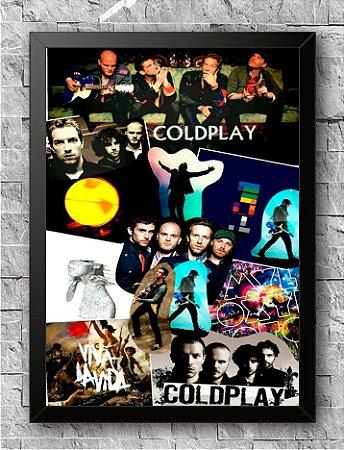 Quadro Coldplay (2)