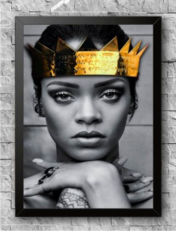 Quadro Rihanna (3)