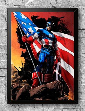 Quadro Capitão América (2)