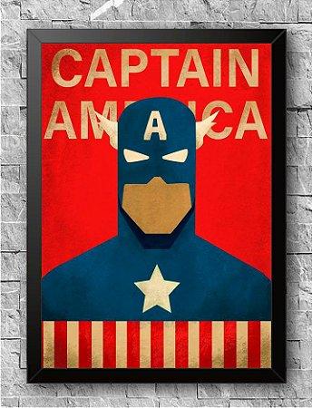 Quadro Capitão América (3)