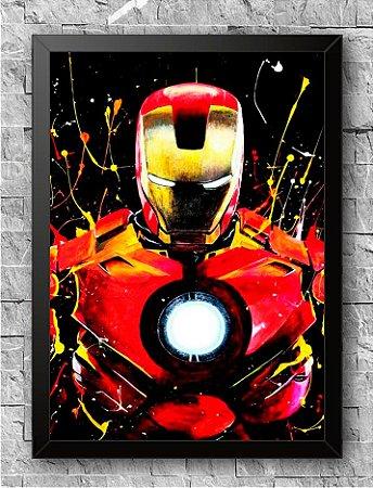 Quadro Homem de Ferro (2)