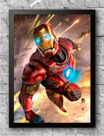 Quadro Homem de Ferro (3)