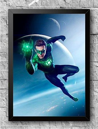 Quadro Lanterna Verde (1)