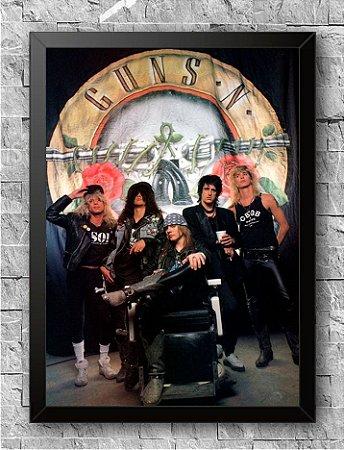 Quadro Guns N' Roses (2)