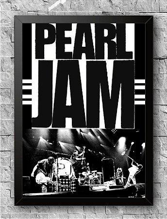 Quadro Pearl Jam (2)