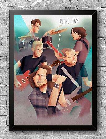 Quadro Pearl Jam (3)