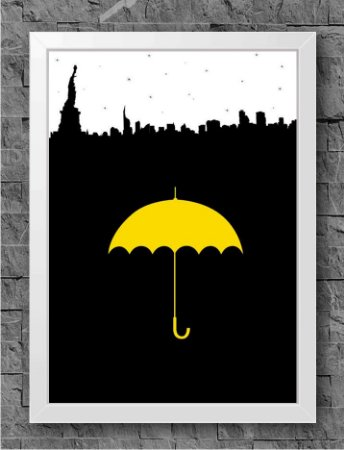 Quadro How I Met Your Mother (2)