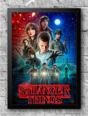 Quadro Stranger Things (1)