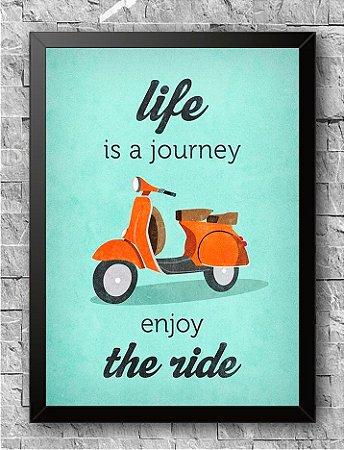 Quadro Enjoy the ride