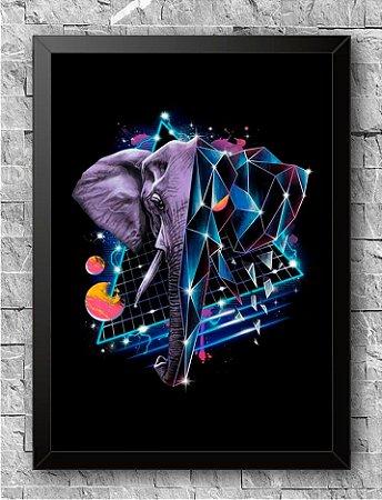 Quadro Elefante (3)