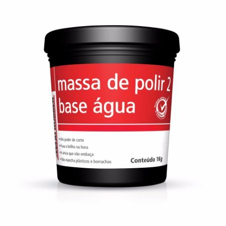 MASSA DE POLIR 2 BASE ÁGUA 1kg