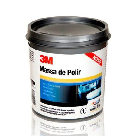 MASSA DE POLIR (TRADICIONAL) 1kg - 3M