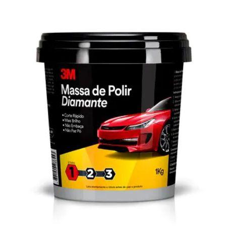 MASSA DE POLIR DIAMANTE 1kg - 3M