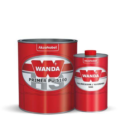 PRIMER PU 5100 HS BRANCO 750ml + ENDURECEDOR 3093 150ml