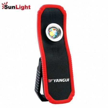 Lanterna de Led SunLight Pro 5W 4.000k para Acerto de Cor e Inspeção de Pintura (a Pilha) - YANGUI-YGU045