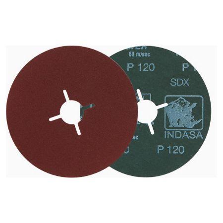 DISCO FIBRA RHYNOFIBRE A 180X22 - INDASA