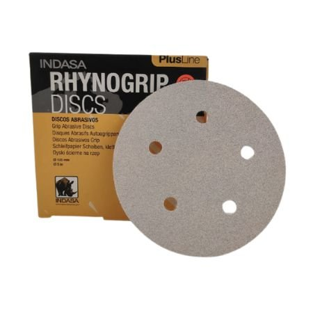 DISCO HOOKIT RHYNOGRIP PLUS 5 POLEGADAS 5 FUROS - INDASA