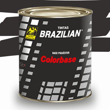 BASE POLIESTER CINZA ESCURO MET. GM 89 900ml - BRAZILIAN