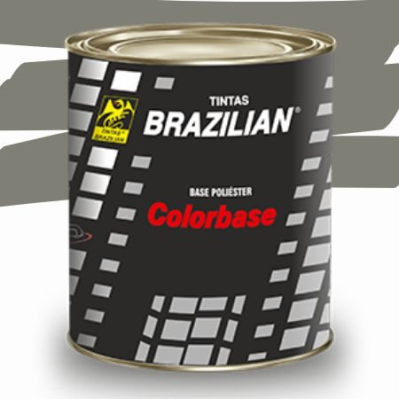 BASE POLIESTER CINZA STOSS PEROLIZADO GM 96 900ml - BRAZILIAN