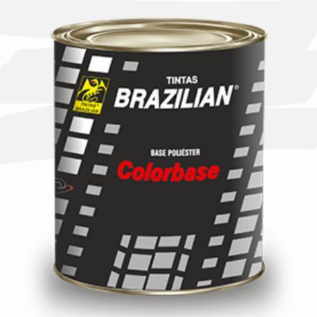 BASE POLIESTER PRATA COLÚMBIA MET. FORD 91 900ml - BRAZILIAN