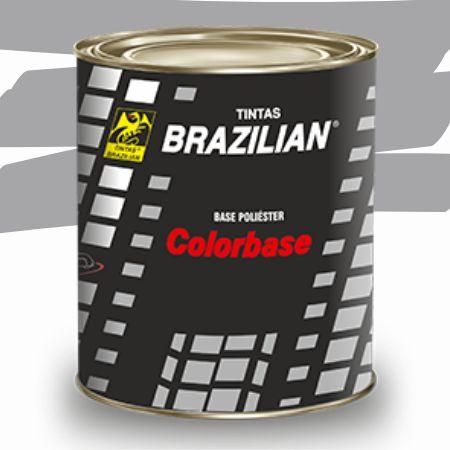 BASE POLIESTER PRATA ENSEADA MET. FORD 900ml - BRAZILIAN
