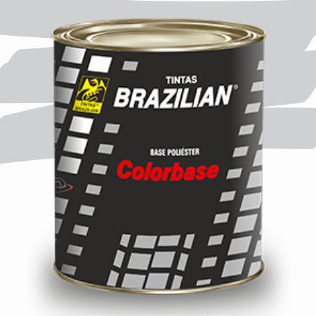 BASE POLIESTER PRATA ESCUNA II  MET. GM/00 900ml - BRAZILIAN