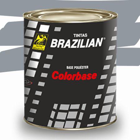 BASE POLIESTER PRATA MET. 1 CO TOYOTA 900ml - BRAZILIAN