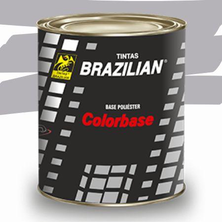 BASE POLIESTER PRATA NIQUEL MET. GM 90 900ml - BRAZILIAN