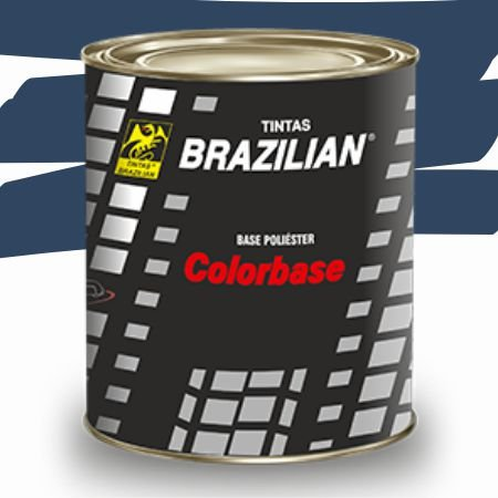 BASE POLIESTER VERDE NAUTICO MET. GM 01 900ml - BRAZILIAN