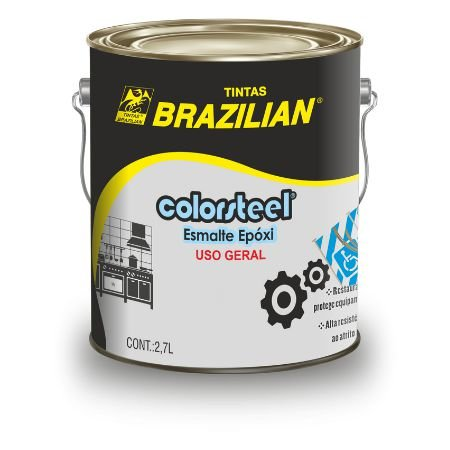 COLORSTEEL EPOXY AZUL SEG. 2,5 PB 4/10 2,7L - BRAZILIAN