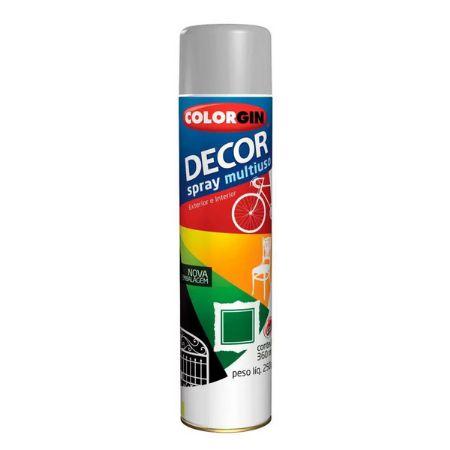 DECOR SPRAY CINZA 350ml - COLORGIN