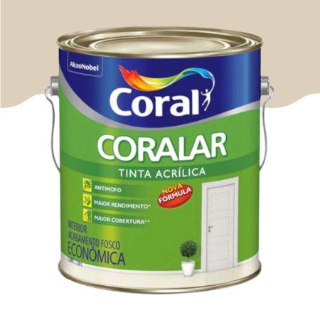 TINTA ACRÍLICA AREIA 3,6L - CORALAR