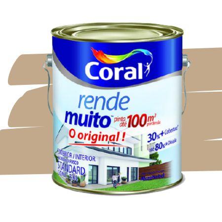 TINTA ACRÍLICA RENDE MUITO CAMURÇA 3,6L - CORAL