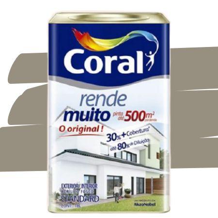 TINTA ACRÍLICA RENDE MUITO CONCRETO 18L - CORAL