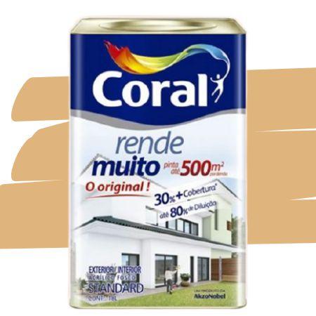 TINTA ACRÍLICA RENDE MUITO CROMO 18L - CORAL