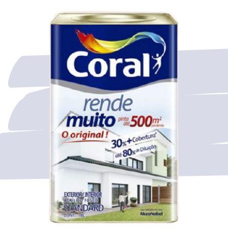 TINTA ACRÍLICA RENDE MUITO LARANJA MARACATU 18L - CORAL